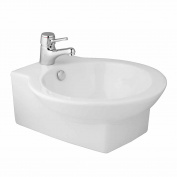 Above Counter Sink Ceramic Bathroom Vessel Porcelain Basin | Renovator's Supply
