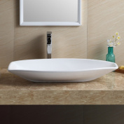 Fine Fixtures Modern Vitreous China Specialty Vessel Bathroom Sink