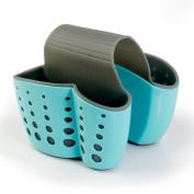 Sacow Kitchen Storage Baskets, New Sponge Holder Sink Caddy Soap Holder Plastic Storage Baskets