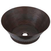 Sinkology Best Metal Circular Vessel Bathroom Sink