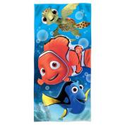 Disney Fibre Reactive Beach Towel 80cm x 150cm - Finding Nemo Sea Life - by SL Home Design