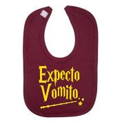 Expecto VomitoHarry Potter Novelty baby Bib 100% Cotton Novelty Baby Gifts