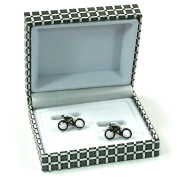 Unique & Different Design Cufflinks Set in a High Quality Gift Box