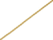 F.Hinds 9ct Gold 1mm Wide Belcher Chain 18in Necklace Rope Jewellery Women Gift