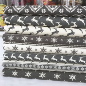 Scandi Nordic Design piece Christmas bundles Grey & Cream 100% cotton fabric