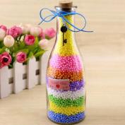 Wanshop Colourful Styrofoam Foam Balls Slime Polystyrene Foam Coloured Spheres Filler Beads Decor For Slime Making Art DIY