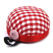 Flying Light Plaid Grids Needle Sewing Pin Cushion