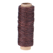 Demiawaking 50m 1mm Waxed Cotton Cord Sewing Thread for Jewellery Leather Craft DIY Hand Stitching