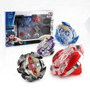 FANMURAN 4D Launcher Kids Grip Beyblade Set Metal Master Fusion Top Children Toys