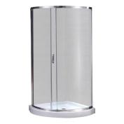 Ove Decors Breeze Premium 80cm x 80cm x 190cm Sliding Door Shower Package Without Walls