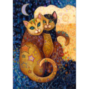 ESHOO DIY Diamond Painting Embroidery Kit Exotic Cat Husky 5D Embroidery Full Picture Craft for Home Wall Decor Gift