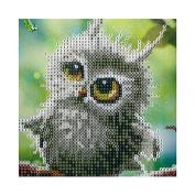 Kofun DIY Owl 5D Diamond Painting Crystal Embroidery Crafts Cross Stitch Art Craft Home Room Wall Decor 30x30 cm