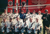 LIMITED EDITION ESCAPE TO VICTORY CAST SIGNED PHOTOGRAPH + CERT PRINTED AUTOGRAPH