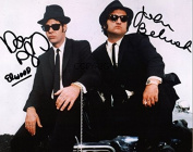 LIMITED EDITION BLUES BROTHERS CAST SIGNED PHOTOGRAPH + CERT PRINTED AUTOGRAPH