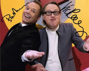 LIMITED EDITION VIC & BOB SIGNED PHOTOGRAPH + CERT PRINTED AUTOGRAPH