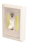 2 x LED BATTERY OPERATED SWITCH NIGHT LIGHT CORDLESS BRIGHT COB LED MAGNETIC