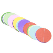 Demiawaking Hanging Rainbow Circle Dot Paper Garland Banner for Wedding Birthday Party Baby Shower Home Decoration