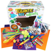 Grafix Gigantic Box of Craft - 300+ Pieces