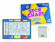 Reward Chart for Children – Star Board Inspires Good Behaviour – Perfect for Kids, Toddlers, Boys and Girls. Potty Training and Habit Trainer