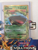 Pokemon Card Venusaur Ex XY Evolutions 1/108