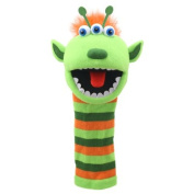 The Puppet Company Sockettes Narg Monster Hand Puppet