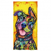 Dean Russo Rescues Are My Favourite Breed Cotton Beach Towel