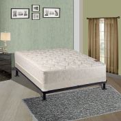 Spring Sleep Assembled Orthopaedic Mattress with 13cm Box Spring Splendour Collection, Twin