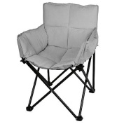 Lounger in Grey Perfect For a Den Living Room or Bedroom