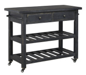 Marlijo Kitchen Cart Black