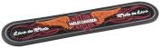 Harley-Davidson Non-Slip Winged Bar & Shield Beverage Mat   Contoured Rubber - HDL-18566