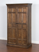 Sunny Designs Savannah Bar Armoire, 43 by 50cm by 190cm