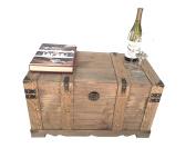 Huntington All Cedar Medium Wood Storage Trunk Wooden Treasure Chest