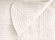 Newborn Baby Cotton Blanket Toddlers Lightweight Quit All Season Blanket, Cream