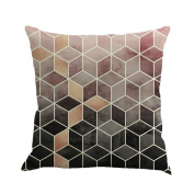 Pillow Cases,Lavany Pillow Covers Geometry Painting Linen Pillowcases Cushion Home Car Sofa Decorative