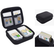 ANTS Hard Case for Joking Hazard Card Game. Fits up to 400 Cards. Includes 2 Removable Divider