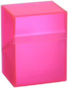 Ultimate Guard Deck Box Boulder Standard 80+ Rhodonite Pink Collectible Card Protection