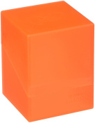 Ultimate Guard Deck Box Boulder Standard 100+ Poppy Topaz Orange Collectible Card Protection