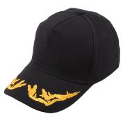 Familizo Hats For Unisex Embroidered Summer Cap Casual Hats Hip Hop Baseball Caps Black