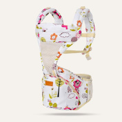 ZHAOJING Baby Sling Front Hold Four Seasons Multi-function Light Breathable Newborn Children Hold Baby Waist Stool Child Baby Carrier