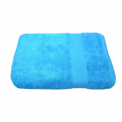 Julie Julsen Hand Towel 50 x 100 cm in 23 Colours Soft and Absorbent 500gsm Oeko Tex, Cotton, turquoise, 50 x 100 cm