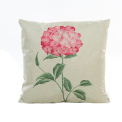 Pillow Cases,Lavany Pillow Covers Flowers Grass Pattern Pillowcases Cushion Sofa Home Decorative
