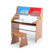 Tot Tutors Primary Focus Activity Desk and Stool Set