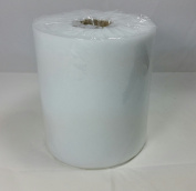 Tulle Spool 12.5 cm wide 100 Metre Roll White