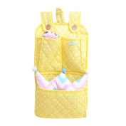 Baby Hanging Storage Bag Minuya Infant Nursery Cot Hanging Nappy Toy