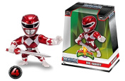 NEW 10cm JADA TOYS ACTION FIGURE COLLECTION - METALFIGS - POWER RANGERS RED RANGER M334 Action Figures By Jada Toys