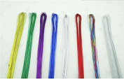 Generic Iron Wire for DIY Nylon Flower 11 Colours to Choose Ronde Flower Material 100pcs Multicolor
