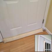 Evelots Updated Hanging Door Draught Stopper With Door Hook, Save Energy & Money