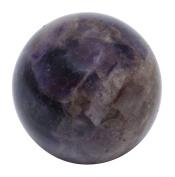 Harmonise Amethyst Reiki Healing Stone Stone Mini Sphere Ball Balancing Art Table Decor