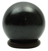 Harmonise Black Tourmaline Stone Mini Sphere Ball Balancing Reiki Healing Stone Table Decor