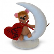Annalee - 7.6cm I Love You To The Moon Mouse